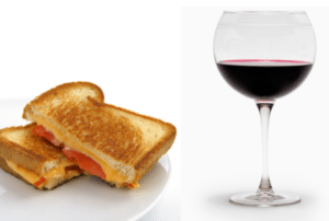 Wine&Grilled Cheese Night @ Cappy's | Loveland | Ohio | United States
